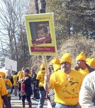Morgan Stanley Protest
